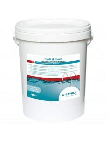 Baseinų priežiūros priemonė BE CHLORO Soft & Easy, 16.8kg,