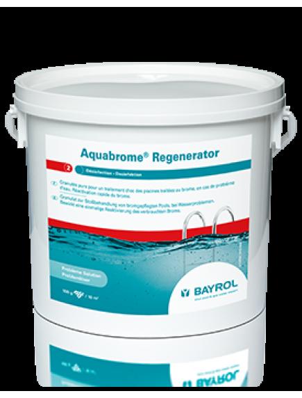 Baseinų priežiūros priemonė vandens šokas su bromu, 5 kg