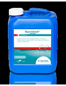 Baseinų priežiūros priemonė be choro - Bayroshock, 5l