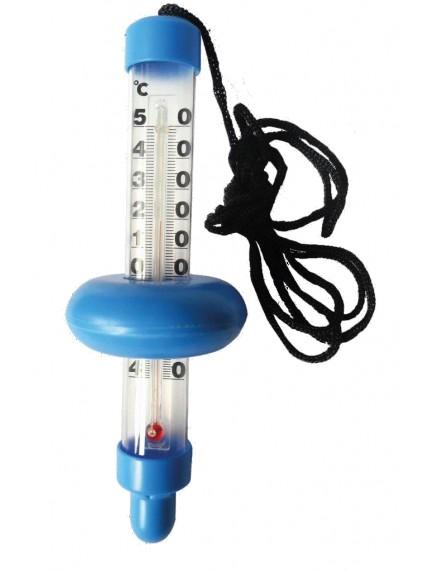 Plūduriuojantis termometras - mėlynasVandens termometrai www.manobaseinas.lt