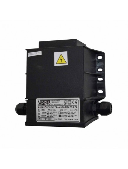 Transformatorius SAFETY TRANSFORMER ENCAP 230/12 V 300W