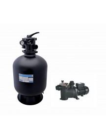Vandens filtravimo blokas AZUR KIT PR 380  6 m³ FOOT