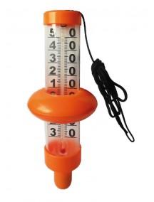 Plūduriuojantis termometras - oranžinis