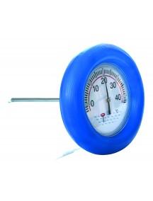 Plaukiojantis termometras - 185 mm skersmens, su guminiu lanku