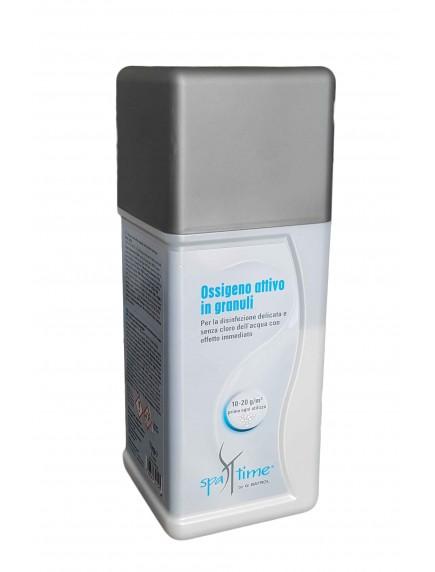Aktyvaus deguonies granulės SPA, 1 kgDezinfekcija be chloro www.manobaseinas.lt